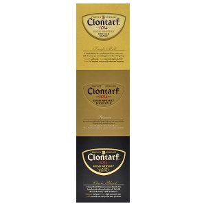 Clontarf Trinity Pack Irish Whiskey 3x 0,05l
