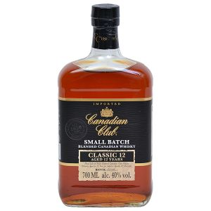 Canadian Club Classic Blended Canadian Whisky 12 Years 0,70l