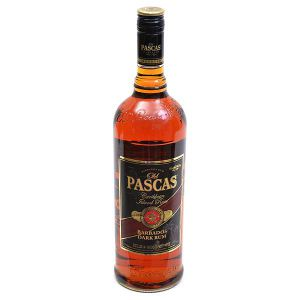 Old Pascas Barbados Dark Rum 1,00l