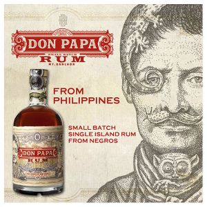 Don Papa Small Batch Rum 7 Years 0,70l