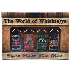 The World of Whisk(e)ys Collection 4x 0,04l