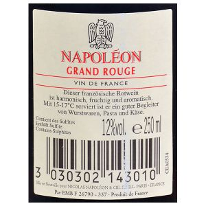 Nicolas Napoleon Grand Rouge 0,25l